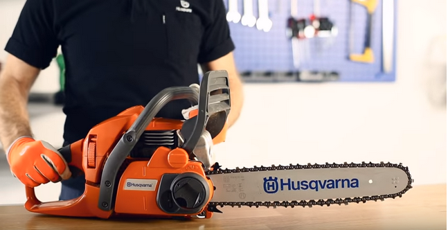 How to Sharpen Your Husqvarna Chainsaw Chain